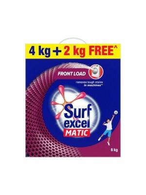 Surf Excel Matic Front Load Detergent Powder 6kg
