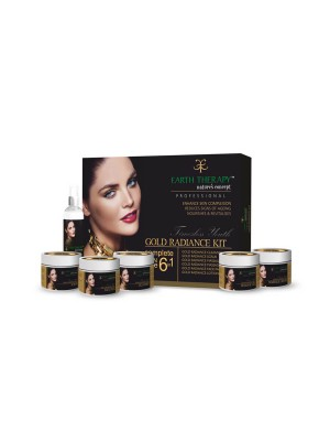 Earth Therapy Gold Radiance Kit 60 gm