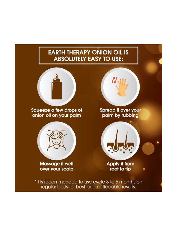 Earth Therapy Onion Oil 100 ml