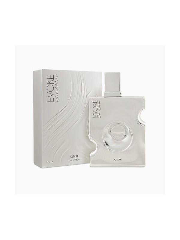 Ajmal Evoke Silver Edition Him Edp 90ml Woody Perfume for Men