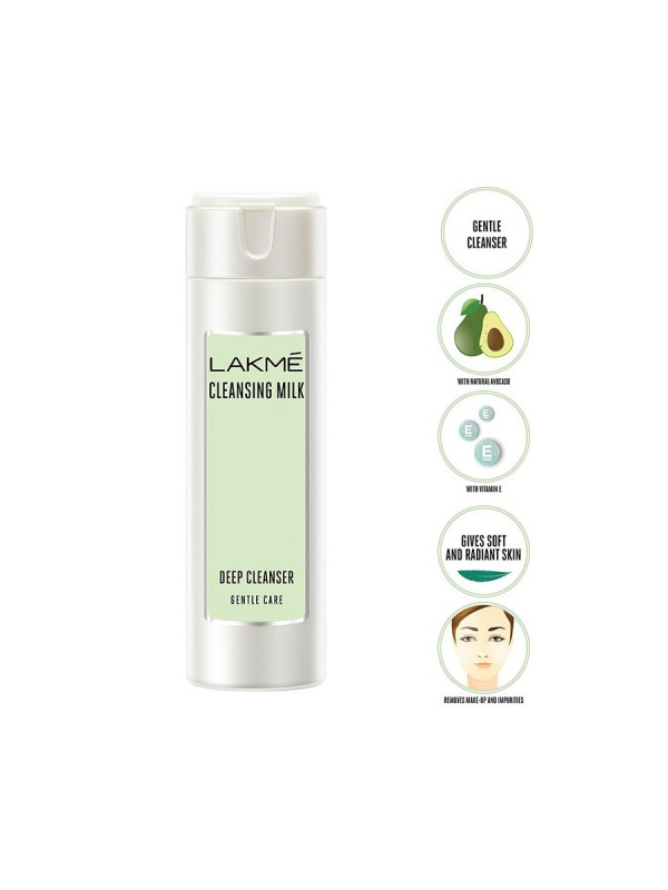Lakme Gentle And Soft Deep Pore Cleanser 60ml