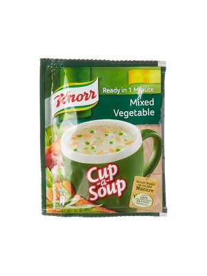 Knorr Instant Mixed Vegetable Cup A Soup 10gm