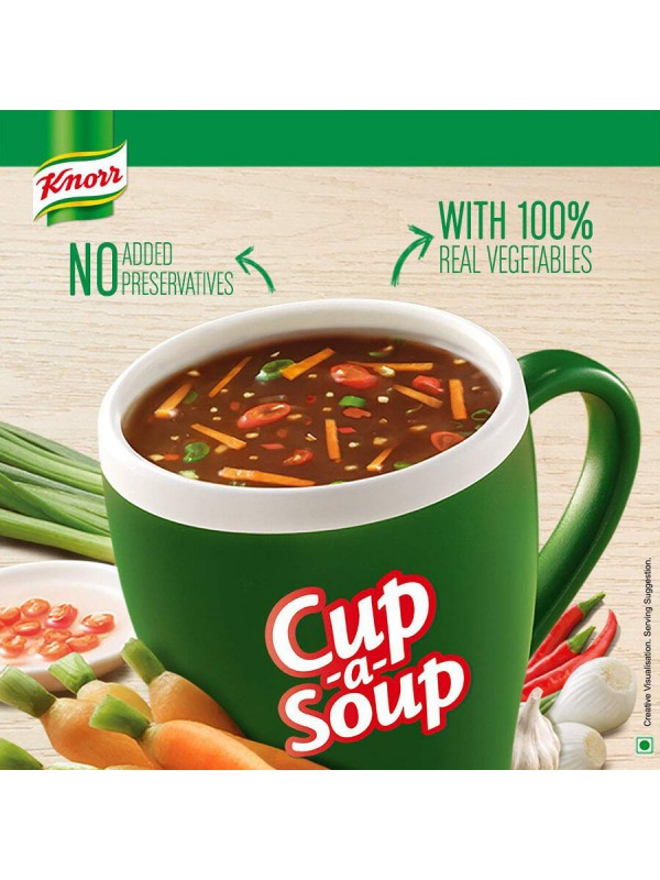 Knorr Veg Hot and Sour Cup-A-Soup 11gm