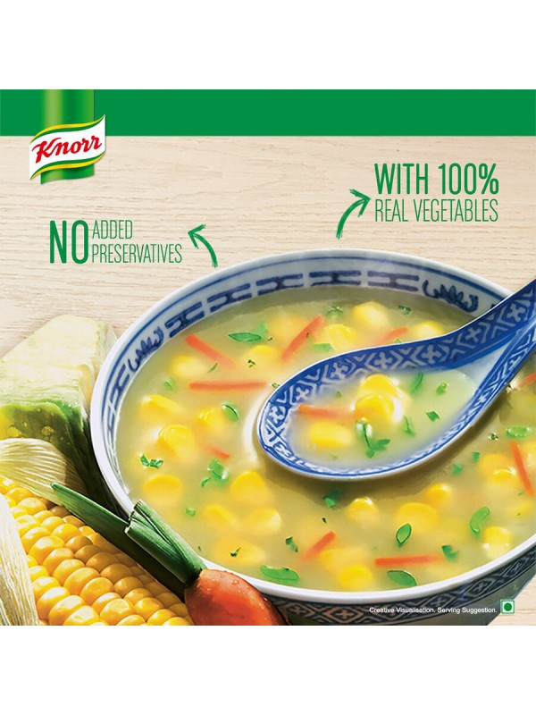 Knorr Classic Vegetable Soup - Sweet Corn 44gm