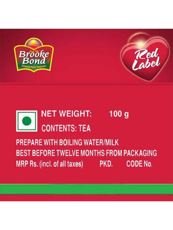 Red Label Brooke Bond Tea 100 gm