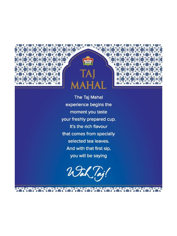 Brooke Bond Taj Mahal Tea 1kg