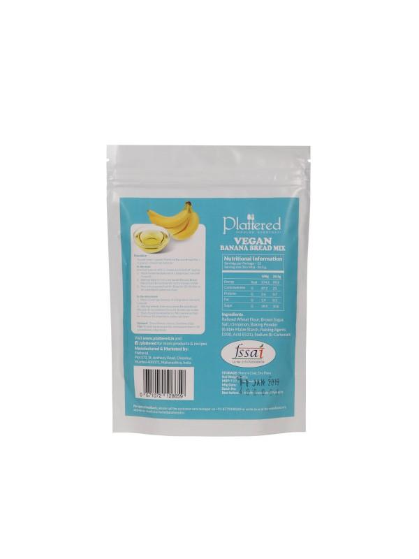 Plattered Vegan Banana Bread Mix 215 gm