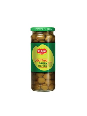 Del Monte Green Stuffed Olives 450 gm