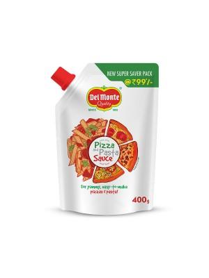 Del Monte Pizza And Pasta Sauce 400 gm Pouch