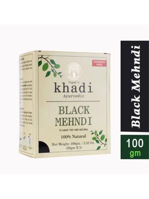 Vagad's Khadi Ayurvedic Hair Colour Black 100 gm