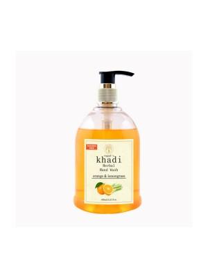 Vagad's Khadi Orange & Lemongrass Hand Wash - 450 ml