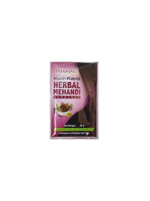 Patanjali Kesh Kanti Herbal Mehandi (Burgundy) 20gm