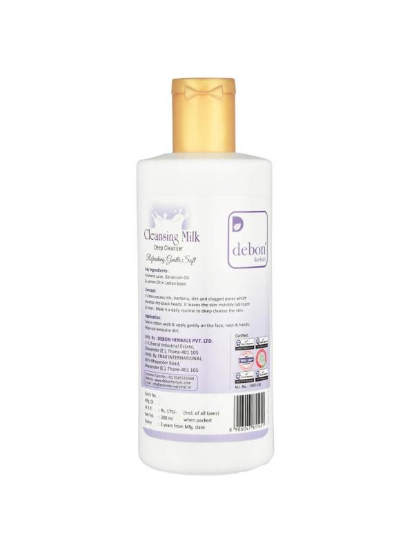Debon Herbals Cleansing Milk 500ml