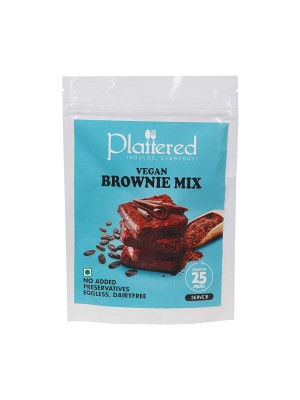 Plattered Whole Wheat Brownie Mix 240 gm