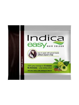Indica Easy Hair Color - Dark Brown (25 ml)