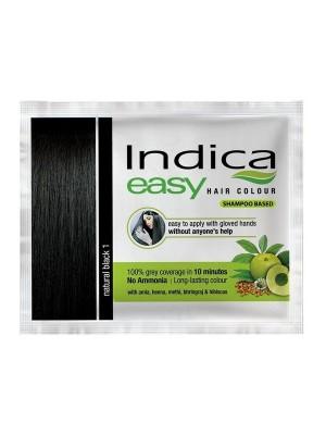 Indica Easy Hair Colour Natural Black 18 ml