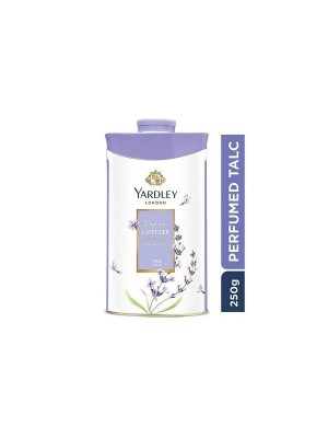 Yardley London English Lavender Talc For Women - 250 gm