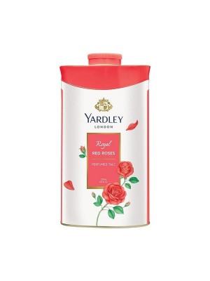 Yardley London Red Rose Talc For Women - 250 gm