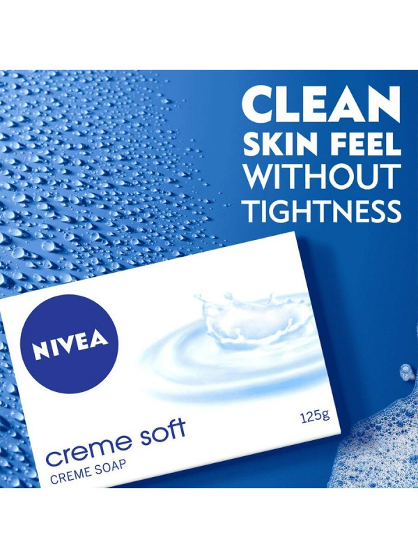 Nivea Soap Cream Soft For Hands And Body 75 gm (2 Pieces)