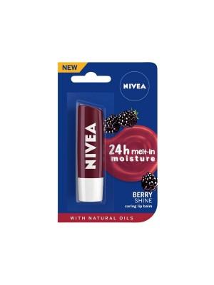 Nivea Lip Balm Fruity Blackberry Shine