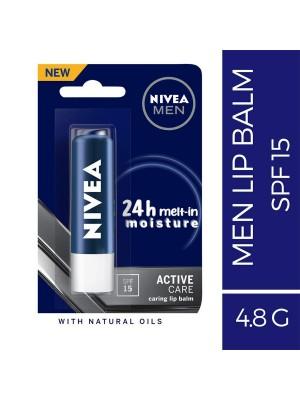 Nivea Men Active Lip Care Spf 15