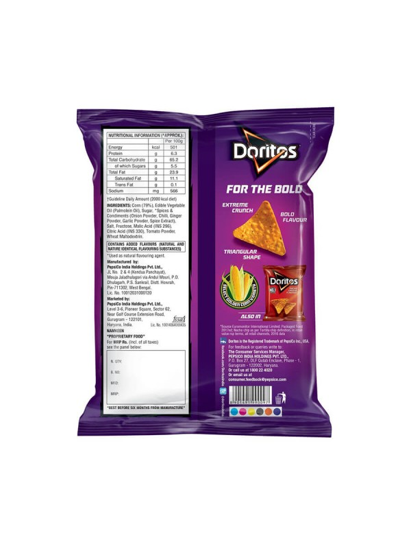 Doritos Sweet Chilli 75 gm