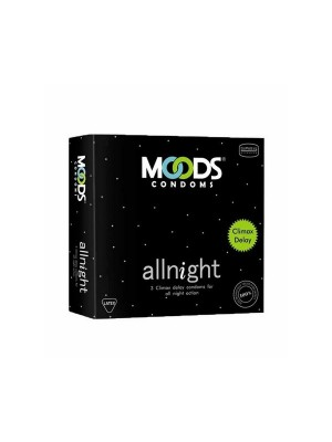 Moods All Night Condoms 3'S Pack