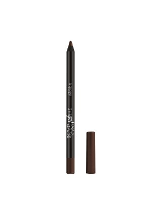 Deborah Milano 2-In-1 Gel Kajal & Eyeliner - 5 Brown