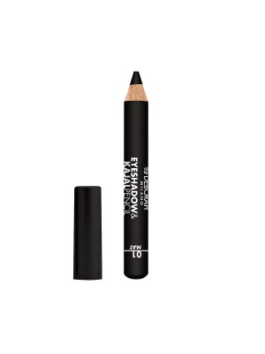 Deborah Milano Eyeshadow&Kajal Pencil - 01 Mat Black