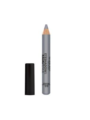 Deborah Milano Eyeshadow&Kajal Pencil - 03 Pearly Silver