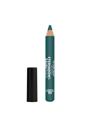 Deborah Milano Eyeshadow&Kajal Pencil - 08 Pearly Teal Green