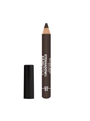 Deborah Milano Eyeshadow&Kajal Pencil - 10 Mat Brown