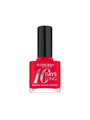 Deborah Milano 10 Days Long - 870 Coral Red Nail Polish