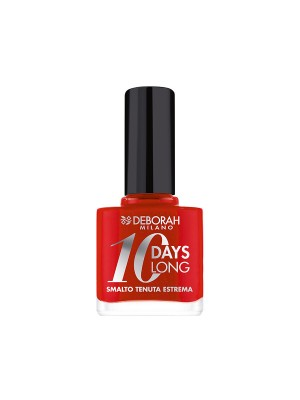 Deborah Milano 10 Days Long - 39 Geranium Red Nail Polish