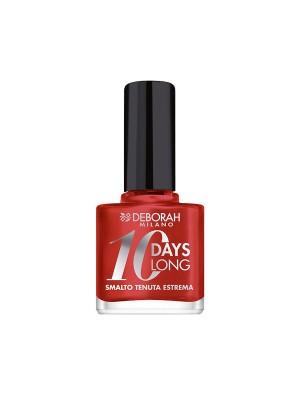Deborah Milano 10 Days Long - 854 Pearly Red Nail Polish