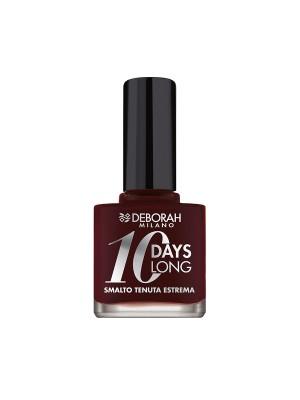Deborah Milano 10 Days Long - 787 Brick Red Nail Polish