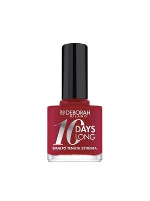 Deborah Milano 10 Days Long - 886 Vintage Red Nail Polish