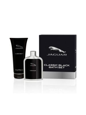 Jaguar Classic Black Gift Set Eau De Toilette 100 ml + Shower Gel 200 ml