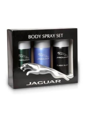 Jaguar Classic Black + Classic + For Men Deo Combo Set - Pack of 3 For Men