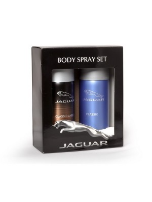 Jaguar Classic + Classic Amber Deo Combo Set - Pack of 2 For Men