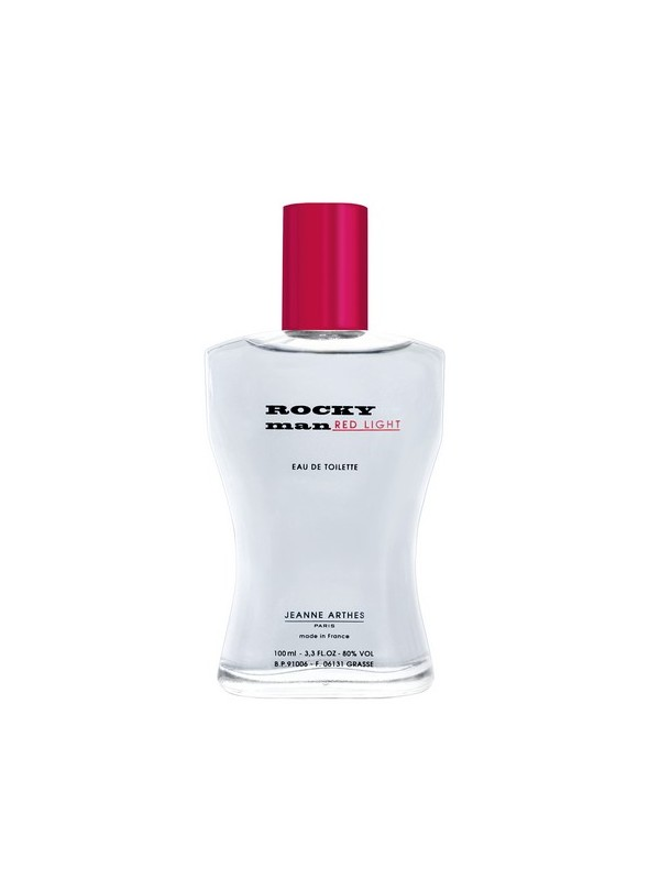 Jeanne Arthes Rocky Red Light Gift Set Eau De Toilette 100 + Shampoo 150 ml