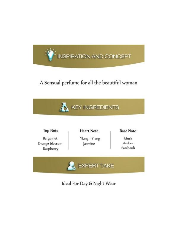 Dorall Collection Golden Blaze Eau De Toilette For Women 100 ml