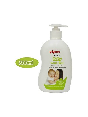 Pigeon 2 In 1 Baby Wash (500 ml)
