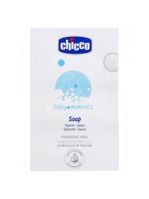 Chicco Soap 125 gm Baby Moments