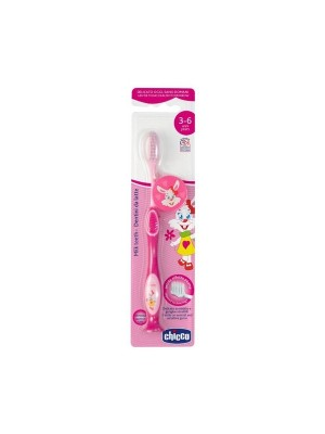 Chicco Milk Teeth Toothbrush 3-6Y Girl