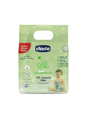 Chicco Tripack Wipes 72 Pieces