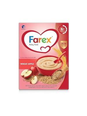Danone Farex Wheat Apple Baby Food 300 gm
