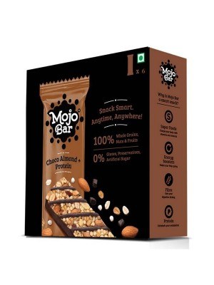 Mojo Bar Choco Almond + Protein (Pack of 6)