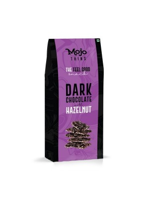 Mojo Thins Dark Chocolate With Hazelnut 100 gm