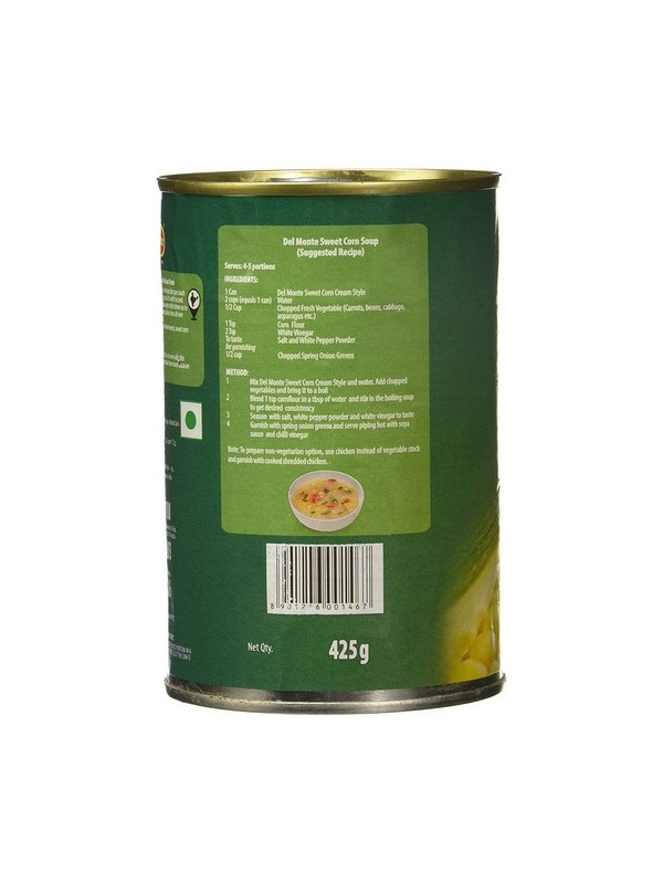 Del Monte Cream Style Corn 425 gm